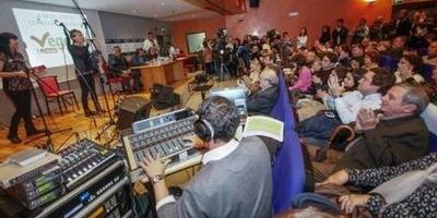 Primer A Radio Conta / salón de actos de la ONCE / 28 dic 2013