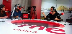 Más acerca del nuevo estudio de Radio 3 / oct 2014